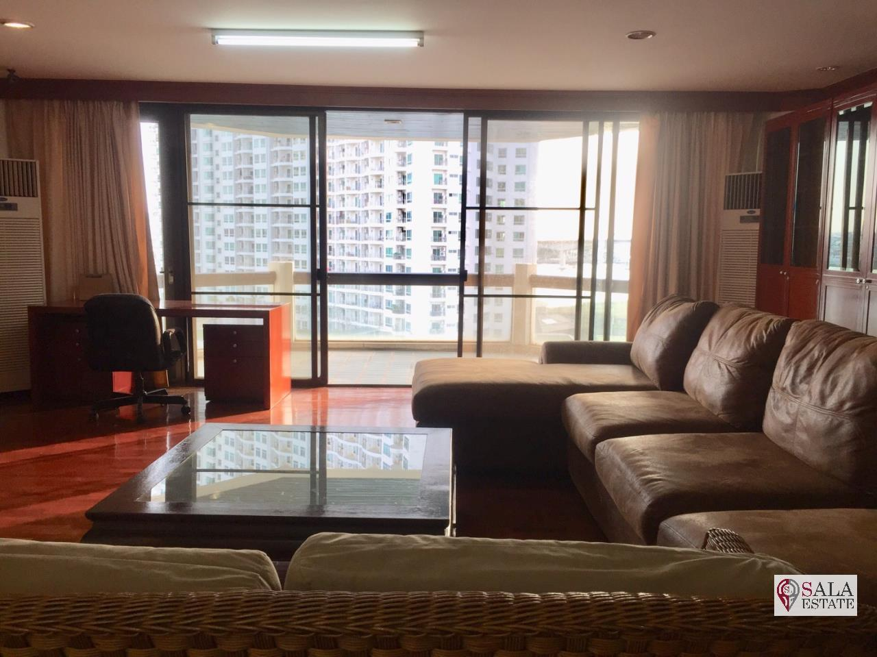 SALA ESTATE Agency's TRIDHOS CITY MARINA – RIVERSIDE-NEAR ICON SIAM-PET ALLOWED, 2 Bedroom 2 Bathroom, Fully furnished, River View 4