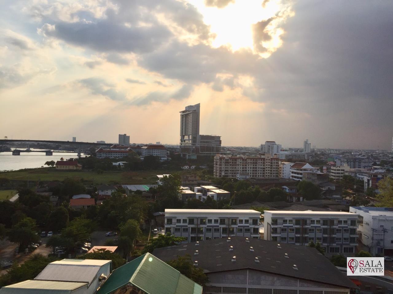 SALA ESTATE Agency's TRIDHOS CITY MARINA – RIVERSIDE-NEAR ICON SIAM-PET ALLOWED, 2 Bedroom 2 Bathroom, Fully furnished, River View 16