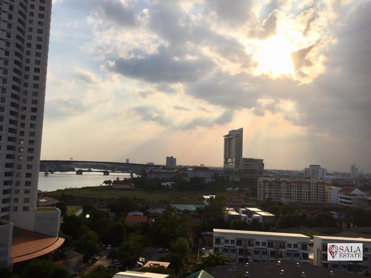 SALA ESTATE Agency's TRIDHOS CITY MARINA – RIVERSIDE-NEAR ICON SIAM-PET ALLOWED, 2 Bedroom 2 Bathroom, Fully furnished, River View 18