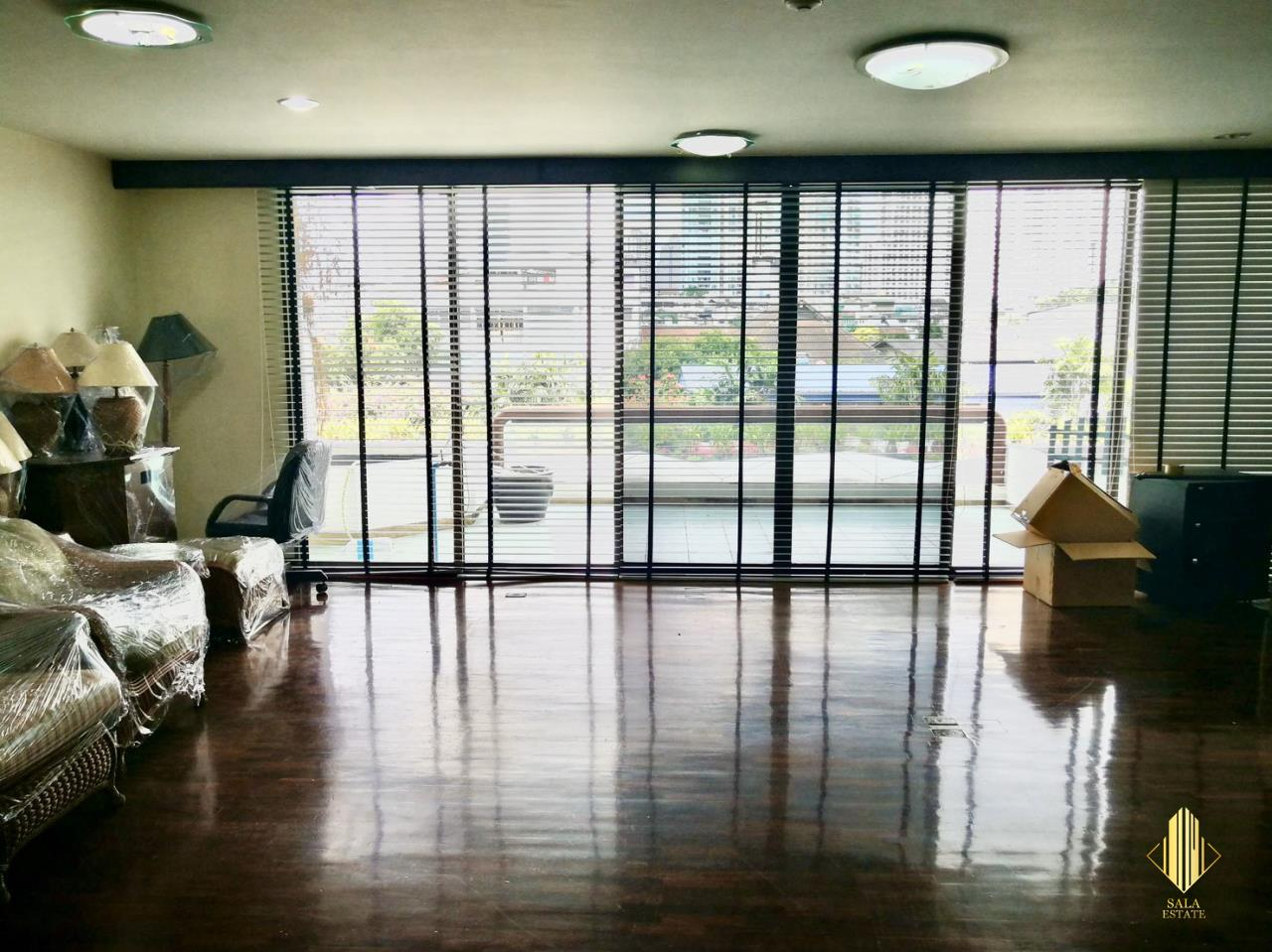 SALA ESTATE Agency's (FOR RENT) TRIDHOS CITY MARINA – RIVERSIDE - NEAR ICON SIAM-PET ALLOWED, 3 BEDROOMS 4 BATHROOMS, 4 FLOORS, 300 SQM, FULLY FURNISHED, CITY VIEW 5