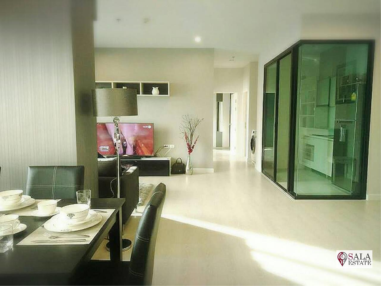 SALA ESTATE Agency's ( SELL WITH TENANT )  THE NICHE PRIDE THONGLOR - PHETCHABURI - 3BEDROOMS 3BATHROOMS, FULLY FURNISHED 1