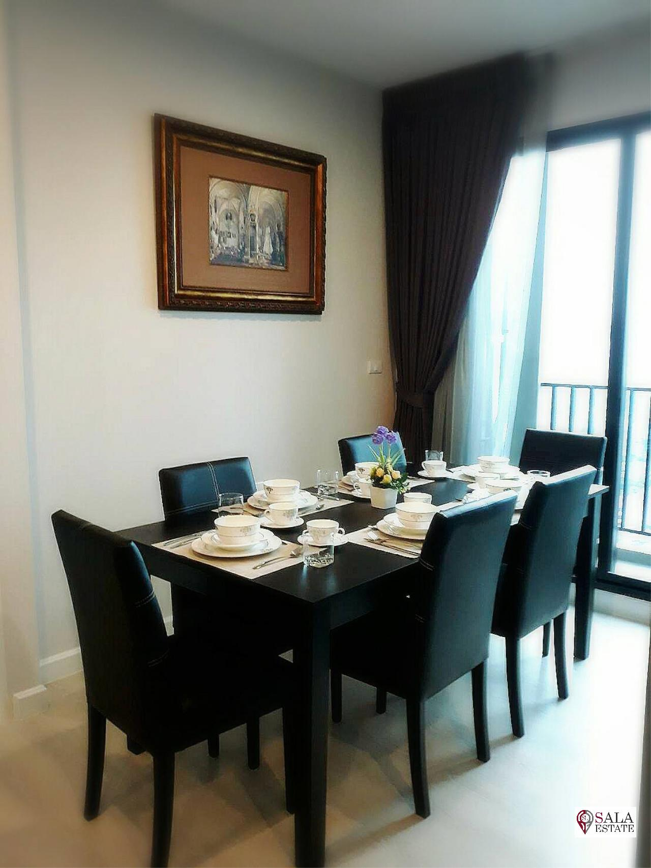 SALA ESTATE Agency's ( SELL WITH TENANT )  THE NICHE PRIDE THONGLOR - PHETCHABURI - 3BEDROOMS 3BATHROOMS, FULLY FURNISHED 6