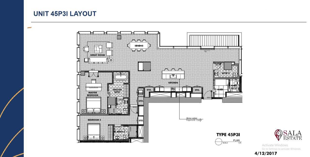 SALA ESTATE Agency's BRAND NEW!!!! ULTRA LUXURY THE RITZ-CARLTON RESIDENCES – BANGKOK'S TALLEST BUILDING - NEAR BTS CHONG NONSI,2 BEDROOMS 2 BATHROOMS 207 SQM. 2