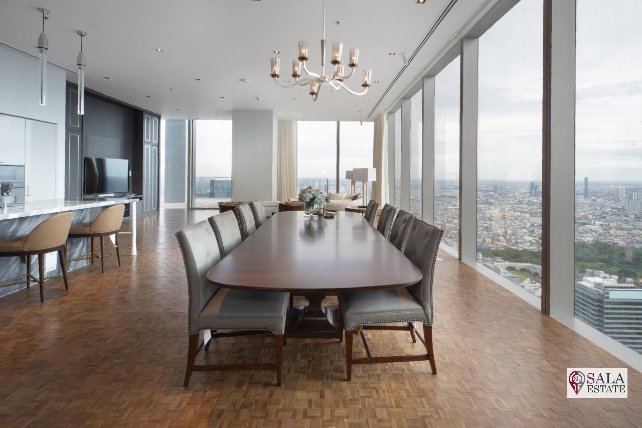 SALA ESTATE Agency's BRAND NEW!!!! ULTRA LUXURY THE RITZ-CARLTON RESIDENCES – BANGKOK'S TALLEST BUILDING - NEAR BTS CHONG NONSI,3 BEDROOMS 3 BATHROOMS 401 SQM. 2