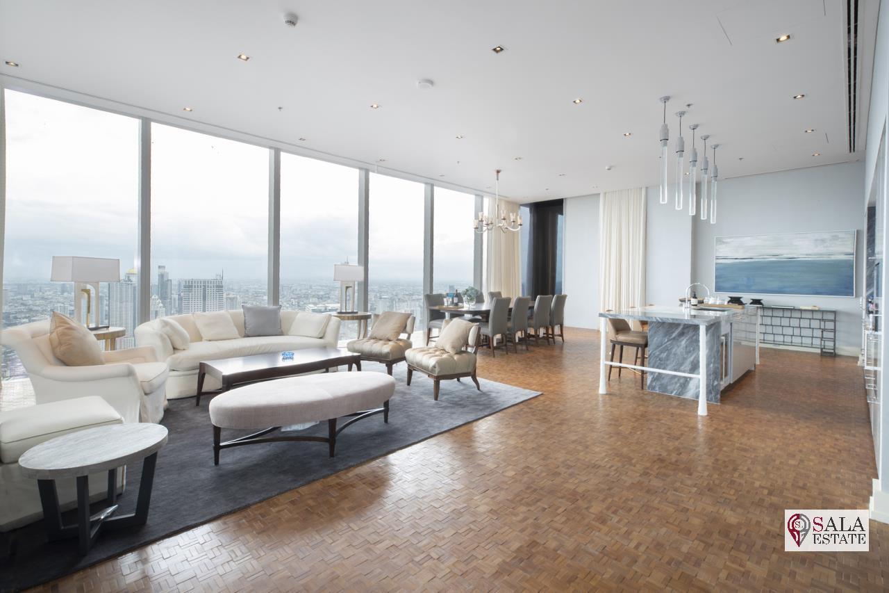 SALA ESTATE Agency's BRAND NEW!!!! ULTRA LUXURY THE RITZ-CARLTON RESIDENCES – BANGKOK'S TALLEST BUILDING - NEAR BTS CHONG NONSI,3 BEDROOMS 3 BATHROOMS 401 SQM. 1