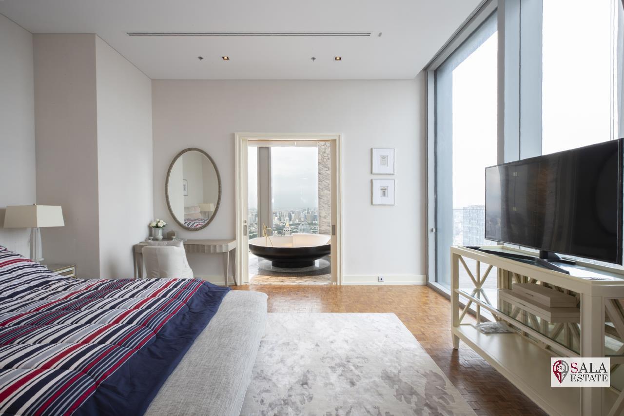 SALA ESTATE Agency's BRAND NEW!!!! ULTRA LUXURY THE RITZ-CARLTON RESIDENCES – BANGKOK'S TALLEST BUILDING - NEAR BTS CHONG NONSI,3 BEDROOMS 3 BATHROOMS 401 SQM. 3