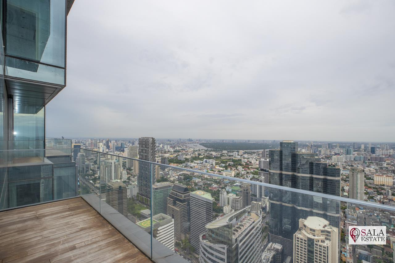 SALA ESTATE Agency's BRAND NEW!!!! ULTRA LUXURY THE RITZ-CARLTON RESIDENCES – BANGKOK'S TALLEST BUILDING - NEAR BTS CHONG NONSI,3 BEDROOMS 3 BATHROOMS 401 SQM. 9