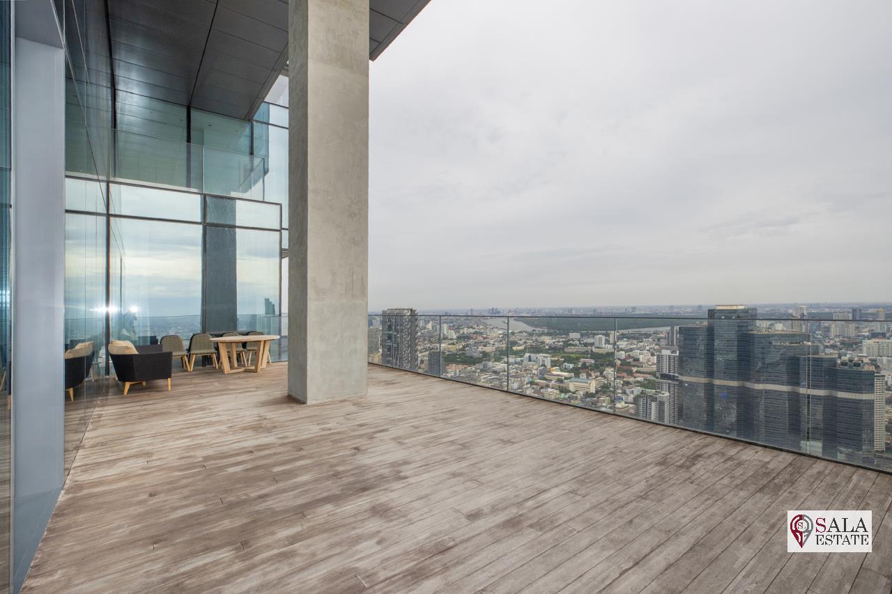 SALA ESTATE Agency's BRAND NEW!!!! ULTRA LUXURY THE RITZ-CARLTON RESIDENCES – BANGKOK'S TALLEST BUILDING - NEAR BTS CHONG NONSI,3 BEDROOMS 3 BATHROOMS 401 SQM. 8