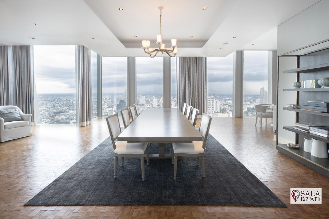SALA ESTATE Agency's BRAND NEW!!!! ULTRA LUXURY THE RITZ-CARLTON RESIDENCES – BANGKOK'S TALLEST BUILDING - NEAR BTS CHONG NONSI,3 BEDROOMS 3 BATHROOMS 384 SQM. 1
