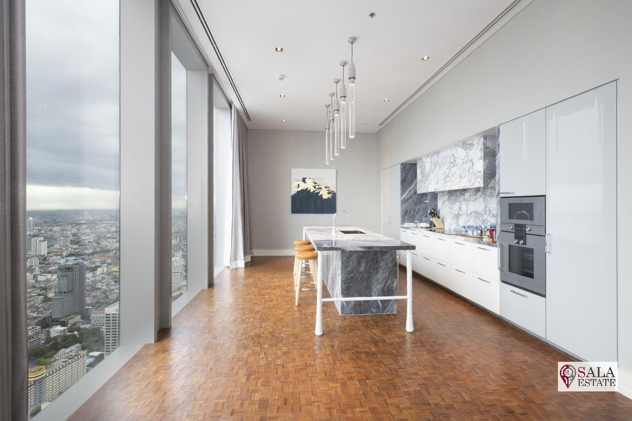 SALA ESTATE Agency's BRAND NEW!!!! ULTRA LUXURY THE RITZ-CARLTON RESIDENCES – BANGKOK'S TALLEST BUILDING - NEAR BTS CHONG NONSI,3 BEDROOMS 3 BATHROOMS 384 SQM. 4