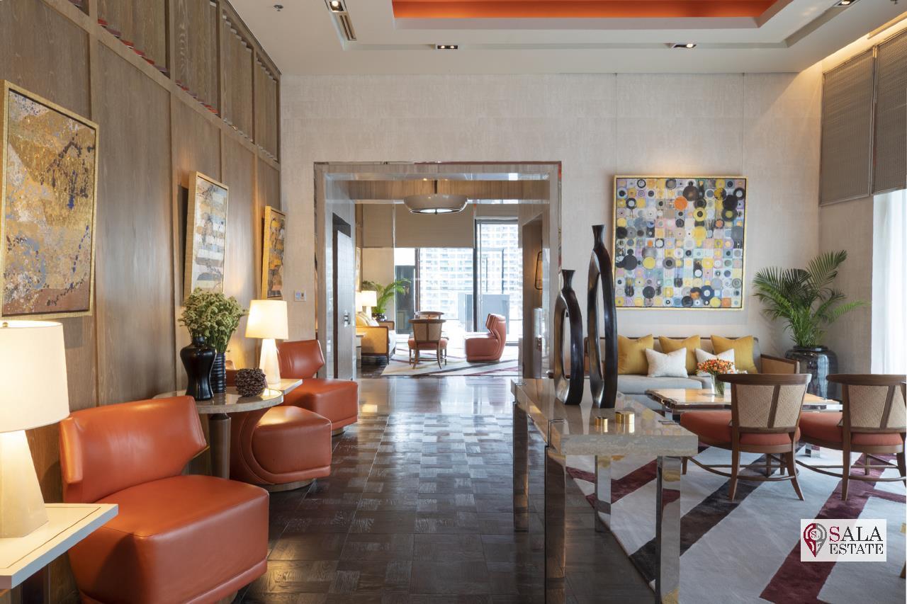 SALA ESTATE Agency's BRAND NEW!!!! ULTRA LUXURY THE RITZ-CARLTON RESIDENCES – BANGKOK'S TALLEST BUILDING - NEAR BTS CHONG NONSI,3 BEDROOMS 3 BATHROOMS 384 SQM. 12
