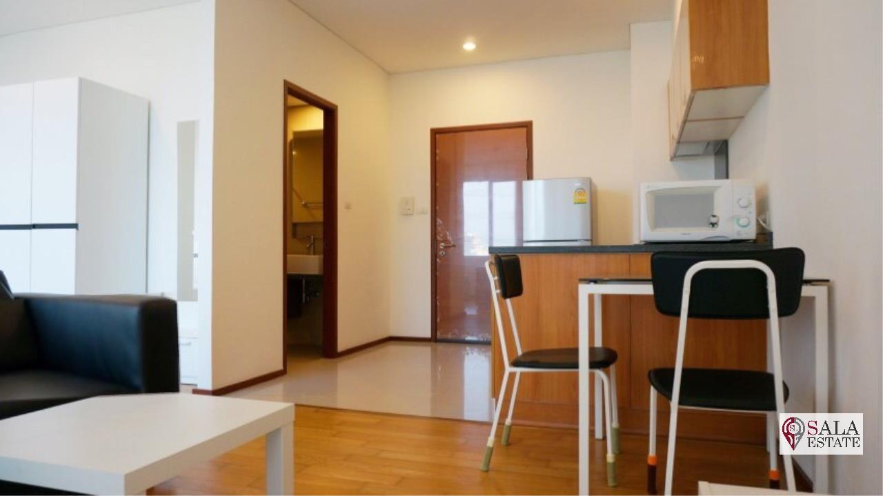 SALA ESTATE Agency's VILLA SATHORN – BTS KRUNG THONBURI,STUDIO TYPE, 1 Bedroom 1 Bathroom, Fully furnished, City View 4