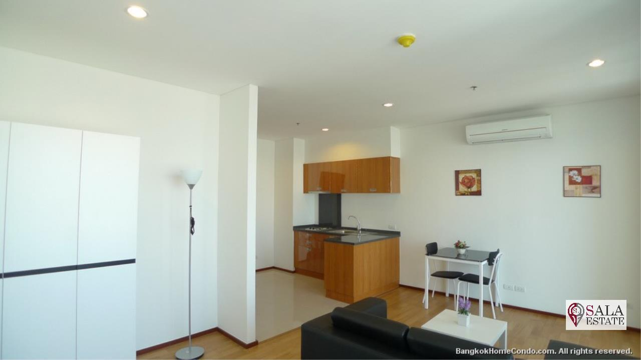 SALA ESTATE Agency's VILLA SATHORN – BTS KRUNG THONBURI,STUDIO TYPE, 1 Bedroom 1 Bathroom, Fully furnished, City View 5