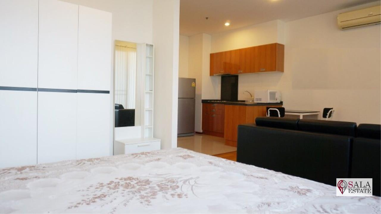 SALA ESTATE Agency's VILLA SATHORN – BTS KRUNG THONBURI,STUDIO TYPE, 1 Bedroom 1 Bathroom, Fully furnished, City View 9