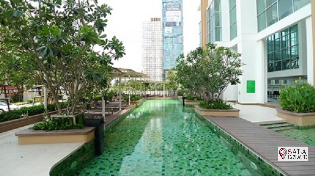 SALA ESTATE Agency's VILLA SATHORN – BTS KRUNG THONBURI,STUDIO TYPE, 1 Bedroom 1 Bathroom, Fully furnished, City View 13