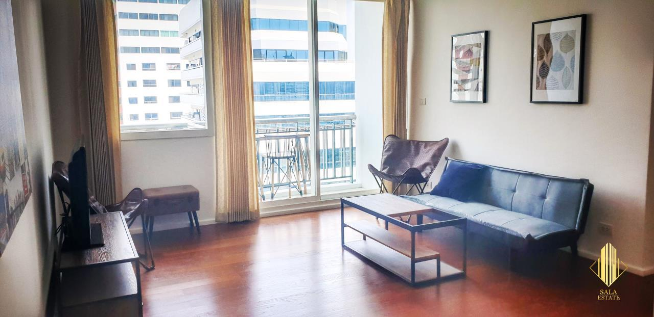 SALA ESTATE Agency's ( FOR SELL ) WIND SUKHUMWIT 23– BTS ASOKE, 78DQM 2 BEDROOM 2 BEDROOM, FULLY FURNISHED, HIGH FLOOR 1