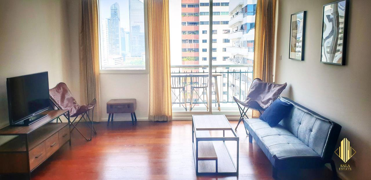 SALA ESTATE Agency's ( FOR SELL ) WIND SUKHUMWIT 23– BTS ASOKE, 78DQM 2 BEDROOM 2 BEDROOM, FULLY FURNISHED, HIGH FLOOR 2