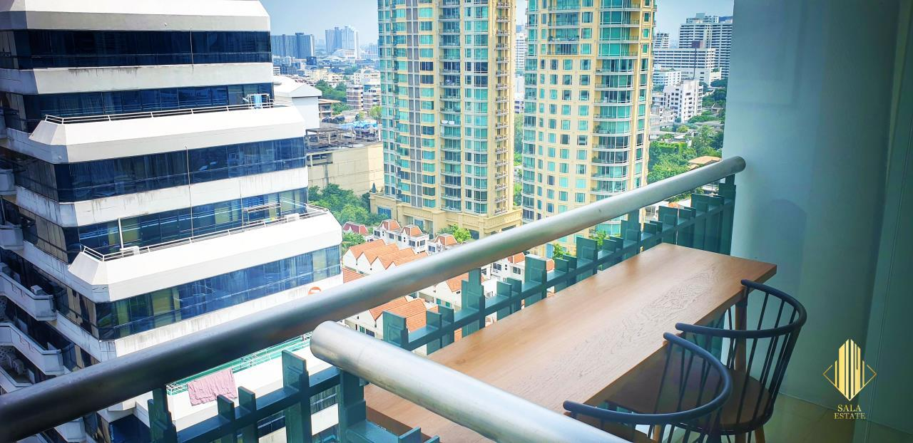 SALA ESTATE Agency's ( FOR SELL ) WIND SUKHUMWIT 23– BTS ASOKE, 78DQM 2 BEDROOM 2 BEDROOM, FULLY FURNISHED, HIGH FLOOR 7