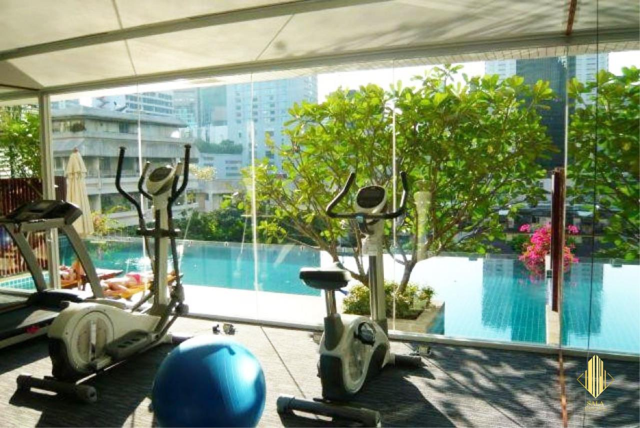 SALA ESTATE Agency's ( FOR SELL ) WIND SUKHUMWIT 23– BTS ASOKE, 78DQM 2 BEDROOM 2 BEDROOM, FULLY FURNISHED, HIGH FLOOR 9
