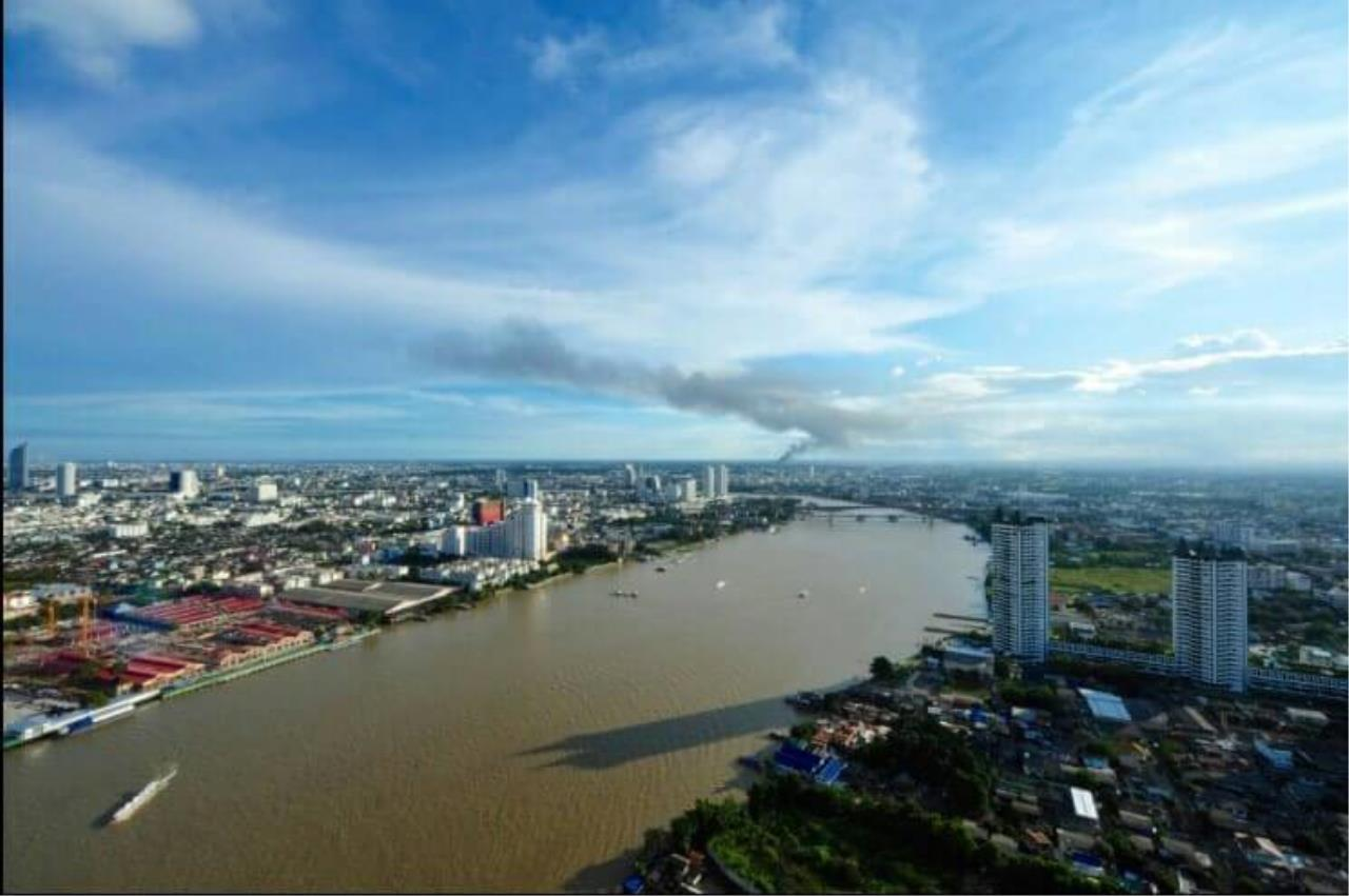 SALA ESTATE Agency's 3 bedroom  condo for  rent/sale in Watermark Chaophraya River near BTS Saphan Taksin 8