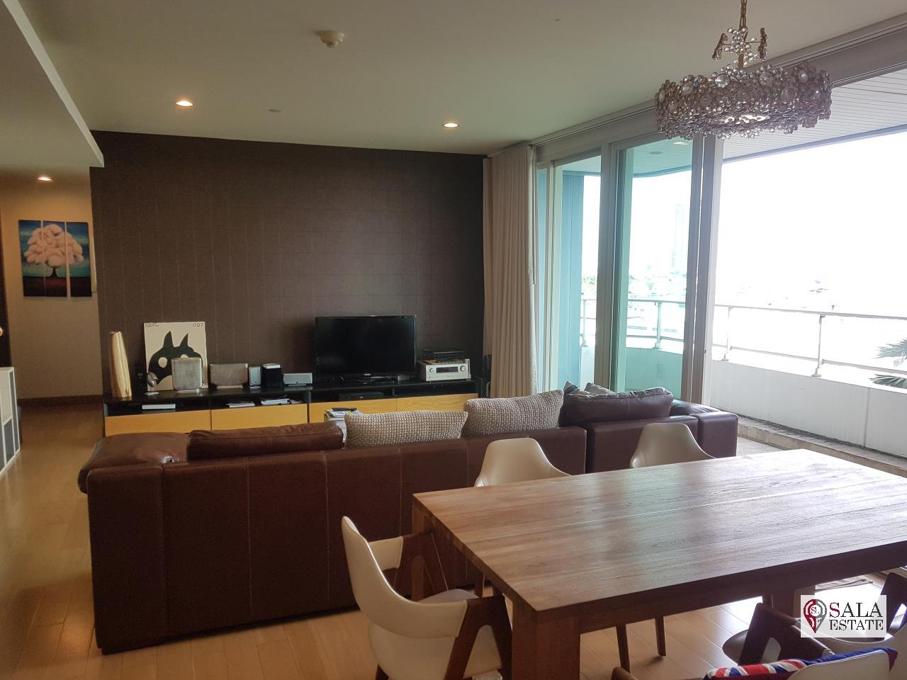 SALA ESTATE Agency's WATERMARK CHAOPHRAYA RIVER – RIVERSIDE-NEAR ICON SIAM,豪华公寓,河景房, 3卧3卫,家具齐全 1