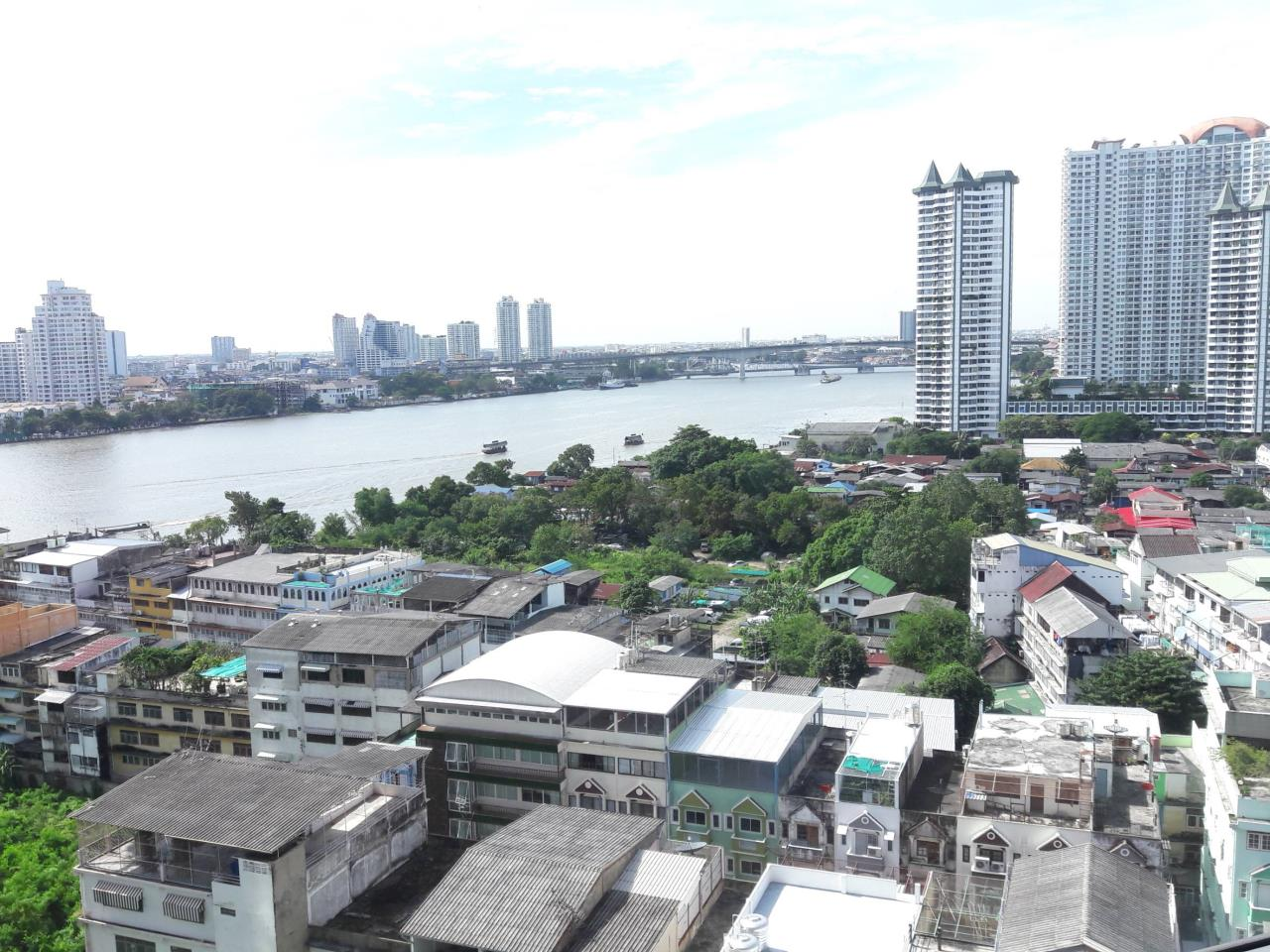 SALA ESTATE Agency's 3 bedroom  condo for rent in Watermark Chaophraya River near BTS Saphan Taksin 8