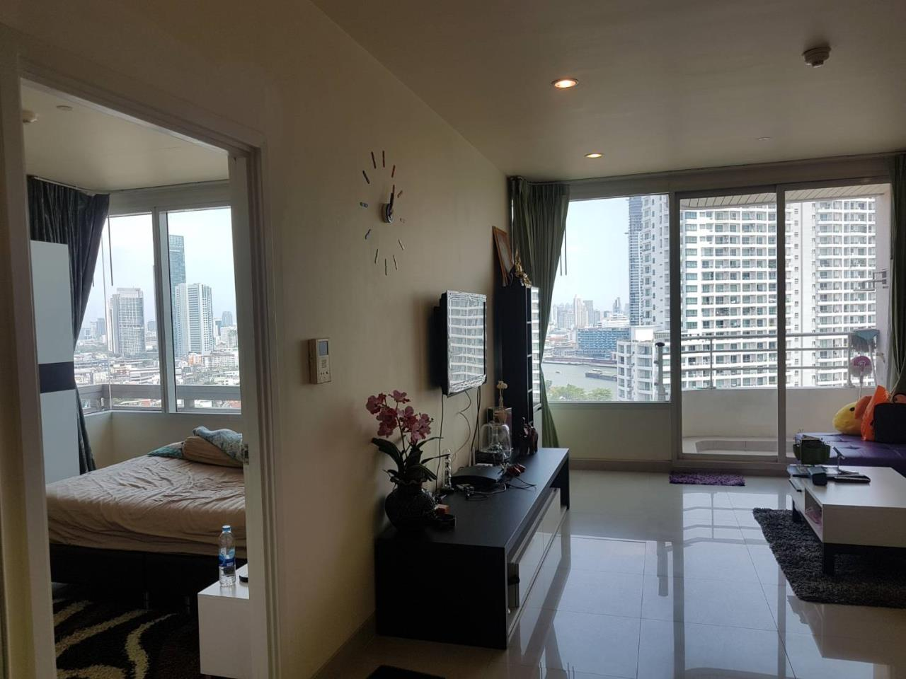 SALA ESTATE Agency's WATERMARK CHAOPHRAYA RIVER – RIVERSIDE-NEAR ICON SIAM,豪华公寓,河景房, 2卧2卫,家具齐全 2