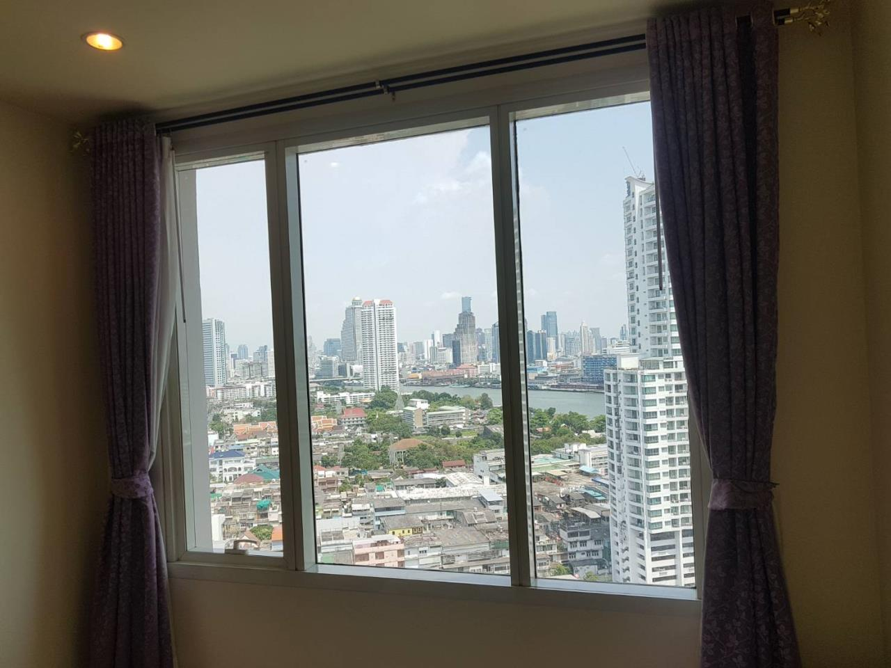 SALA ESTATE Agency's 2 bedroom Condo Watermark Chaophraya River-Near BTS Saphan Taksin-Pets allows. 5
