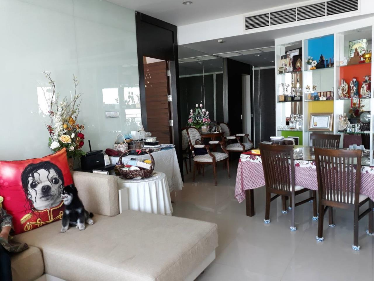SALA ESTATE Agency's 2 bedroom For rent/sale Condo Watermark Chaophraya River - Near BTS Saphan Taksin-Pets allows. 1