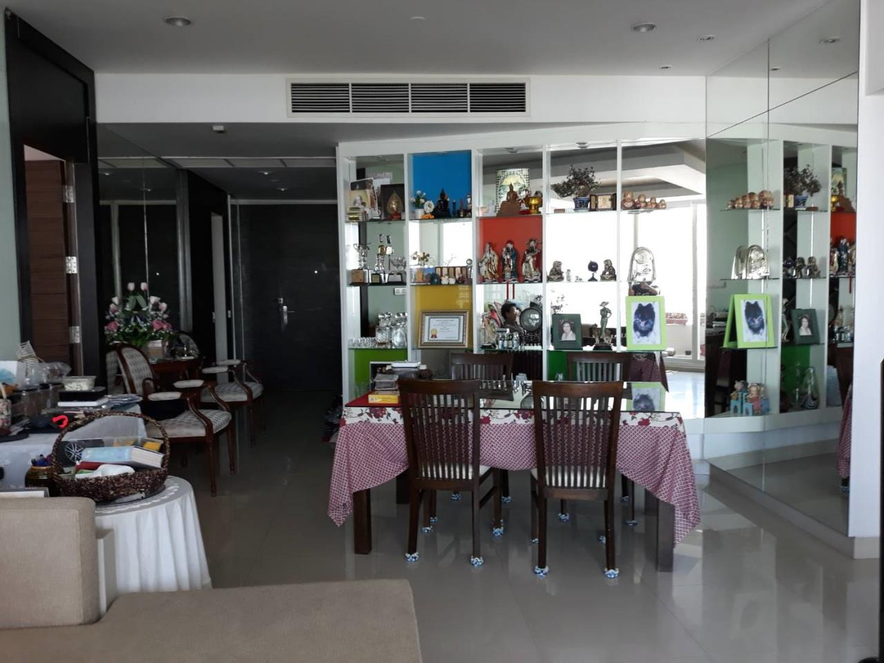 SALA ESTATE Agency's 2 bedroom For rent/sale Condo Watermark Chaophraya River - Near BTS Saphan Taksin-Pets allows. 2