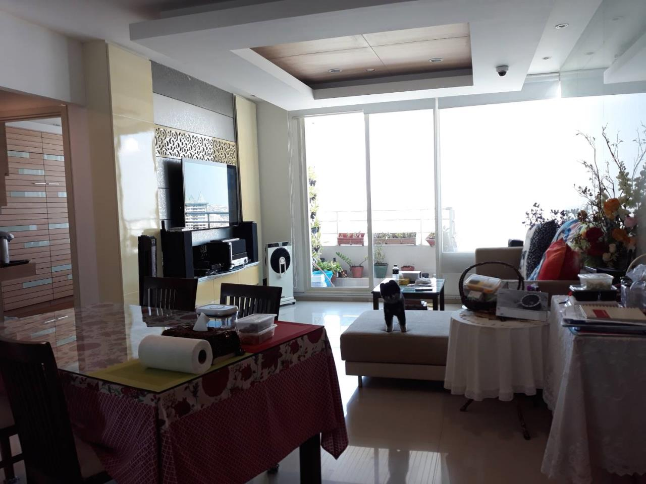 SALA ESTATE Agency's 2 bedroom For rent/sale Condo Watermark Chaophraya River - Near BTS Saphan Taksin-Pets allows. 3