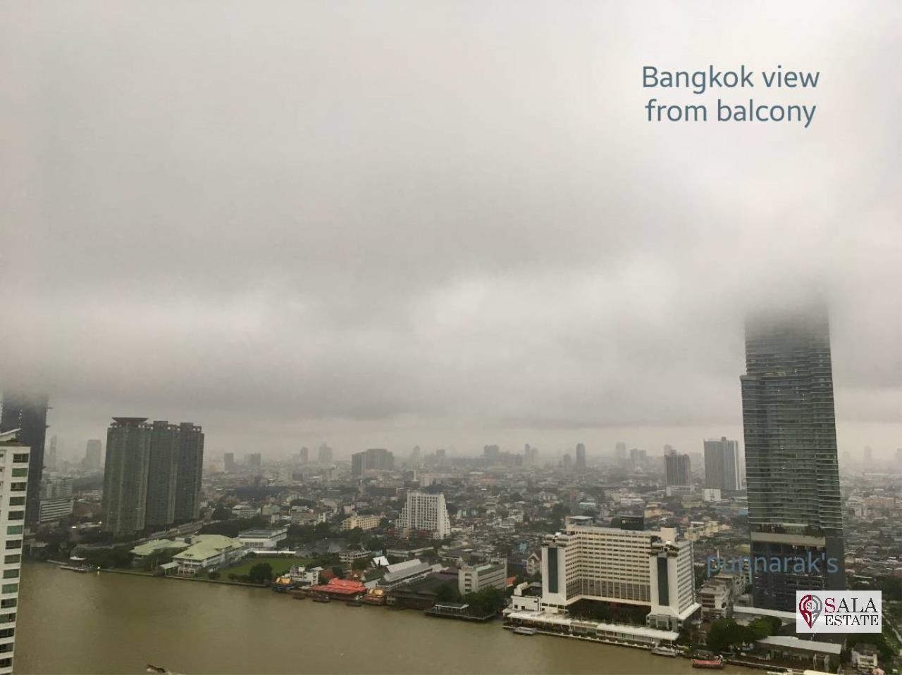 SALA ESTATE Agency's 3 bedroom  condo for sale in Watermark Chaophraya River near BTS Saphan Taksin 17