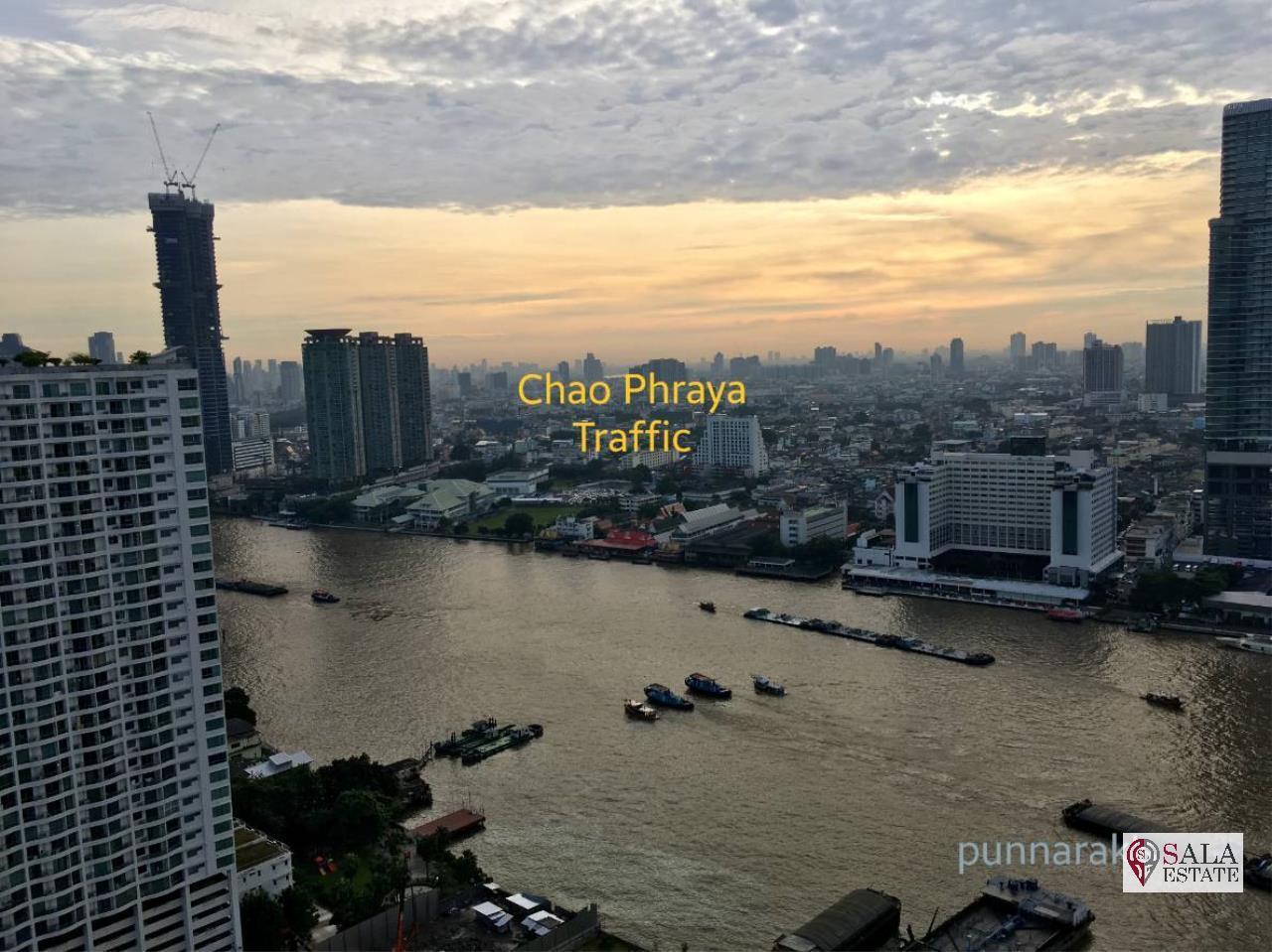 SALA ESTATE Agency's 3 bedroom  condo for sale in Watermark Chaophraya River near BTS Saphan Taksin 18