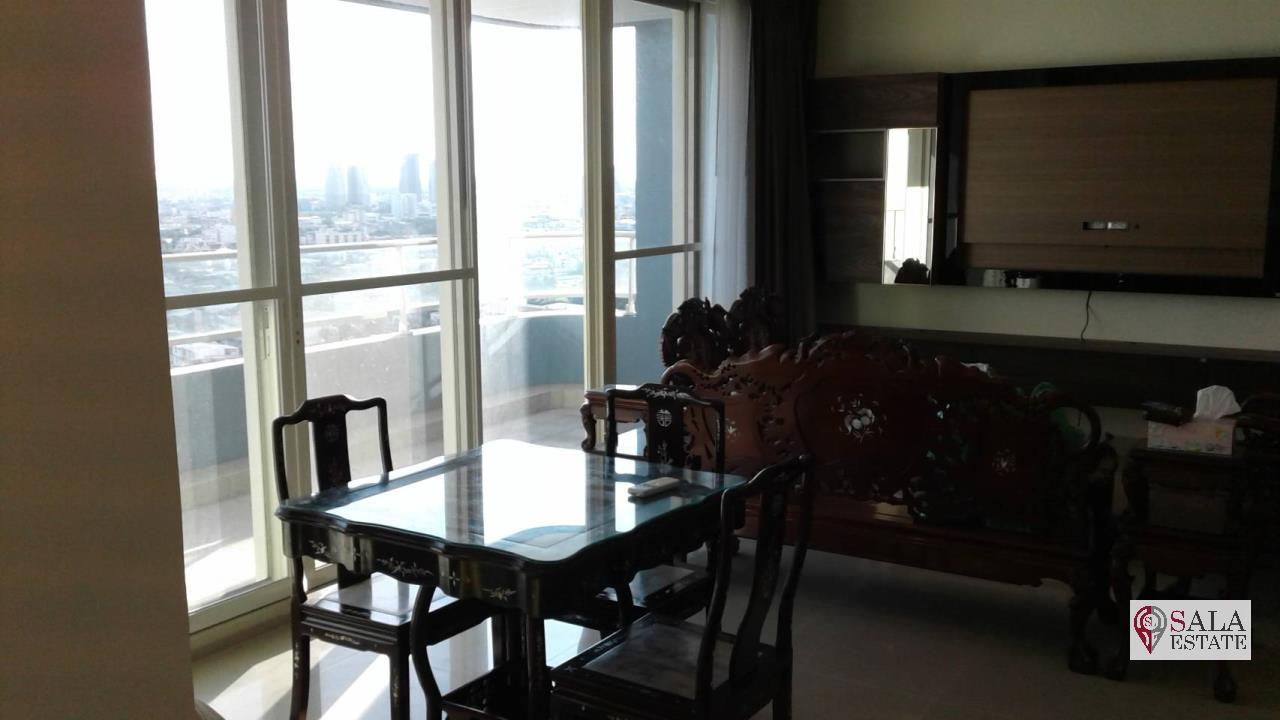 SALA ESTATE Agency's 3 bedroom condo for Sale in WaterMark Chaophraya River, Pets are allowed 2
