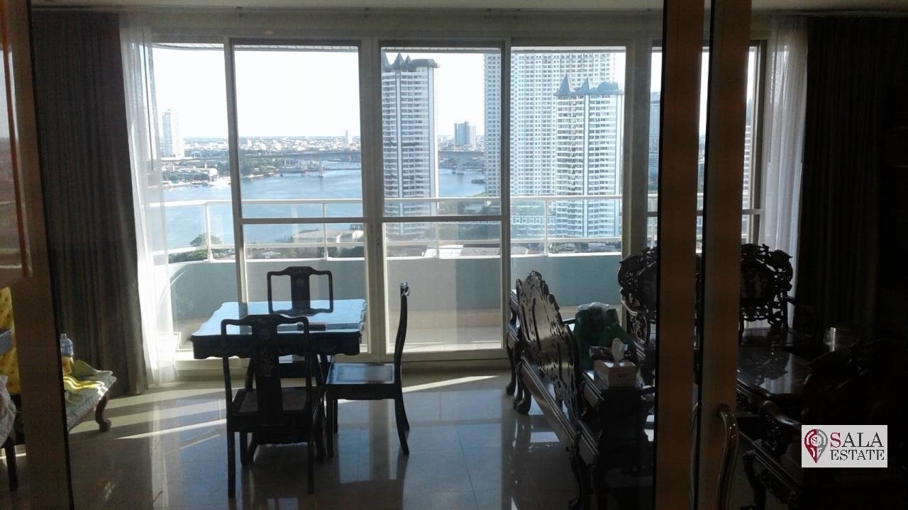 SALA ESTATE Agency's 3 bedroom condo for Sale in WaterMark Chaophraya River, Pets are allowed 3