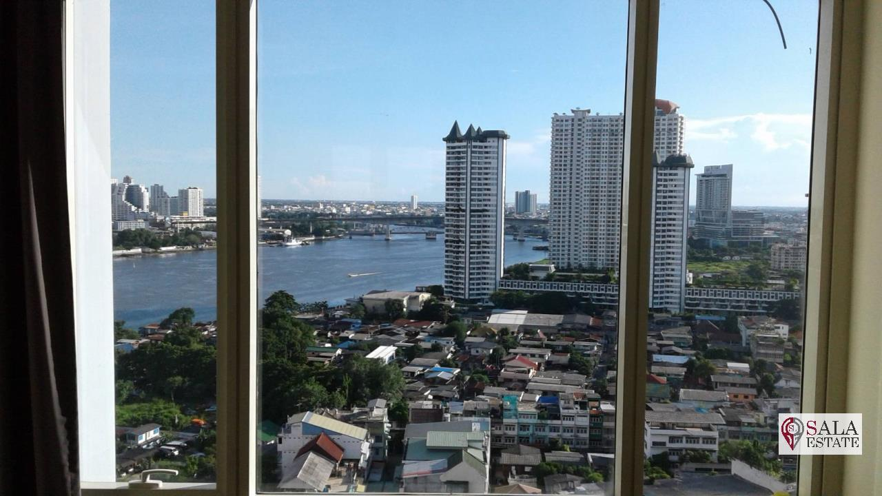 SALA ESTATE Agency's 3 bedroom condo for Sale in WaterMark Chaophraya River, Pets are allowed 1