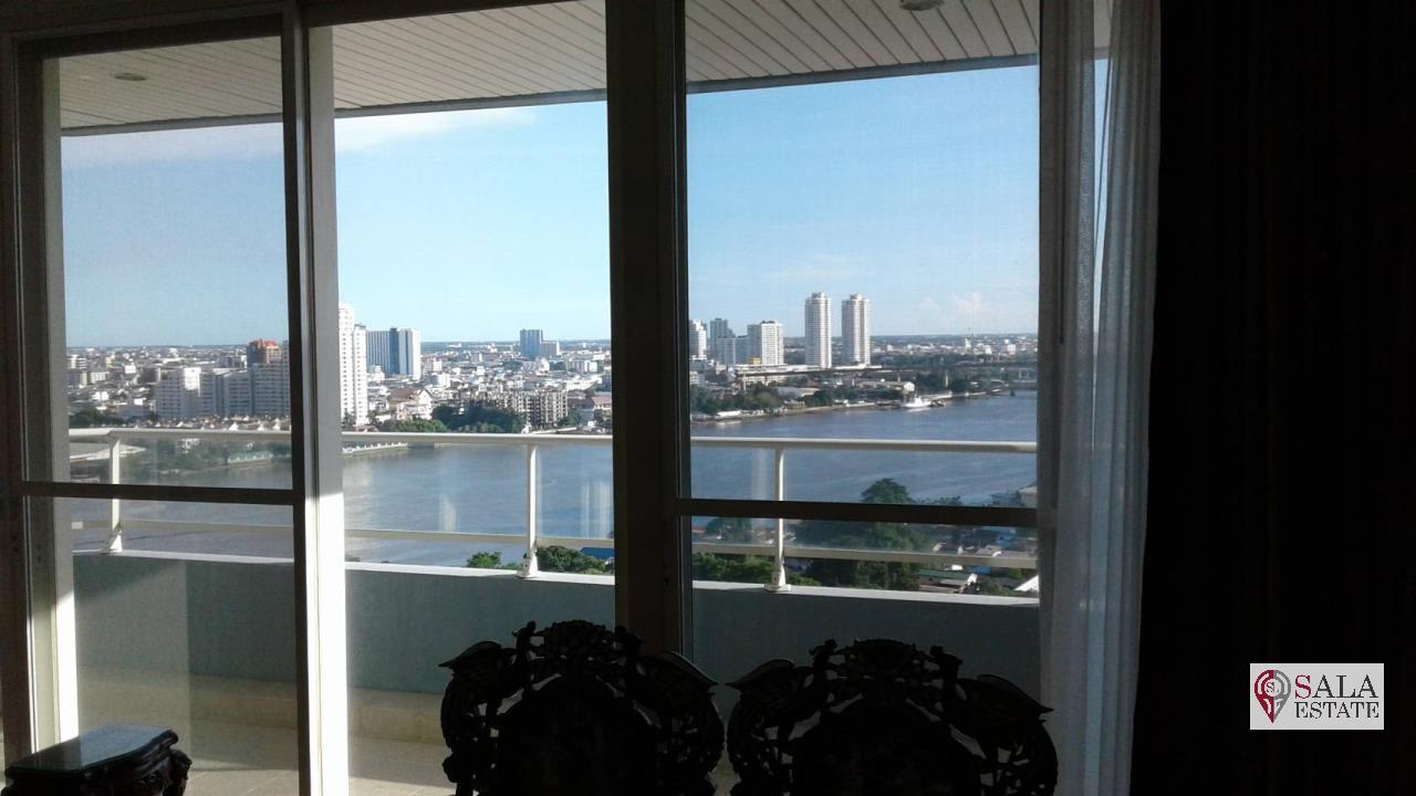 SALA ESTATE Agency's 3 bedroom condo for Sale in WaterMark Chaophraya River, Pets are allowed 7