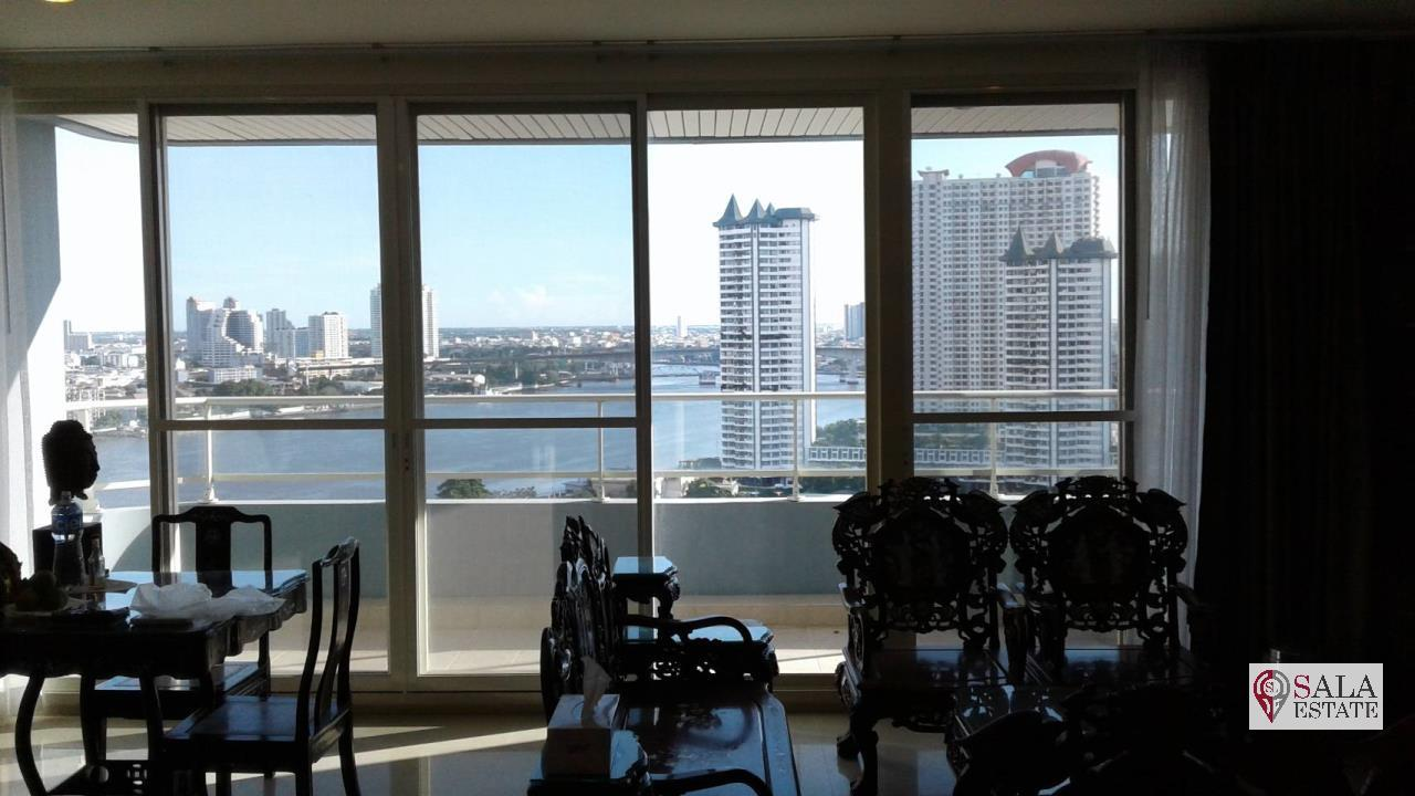 SALA ESTATE Agency's 3 bedroom condo for Sale in WaterMark Chaophraya River, Pets are allowed 8