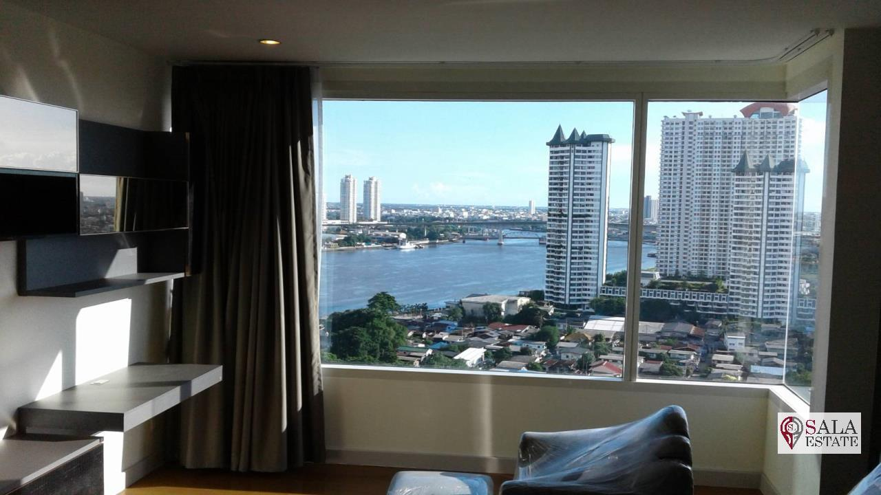 SALA ESTATE Agency's 3 bedroom condo for Sale in WaterMark Chaophraya River, Pets are allowed 9