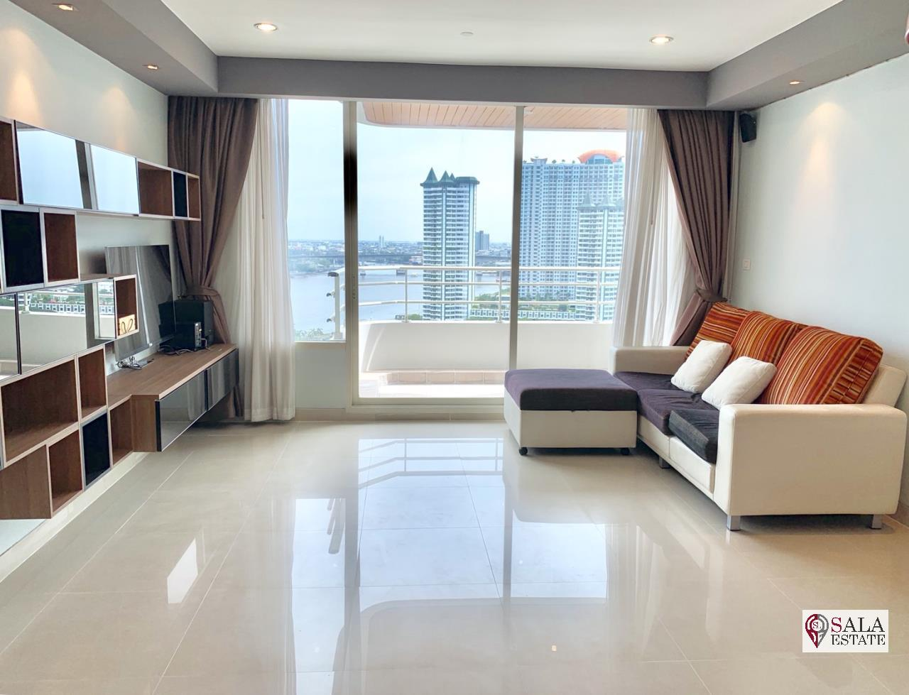 SALA ESTATE Agency's WATERMARK CHAOPHRAYA RIVER – RIVERSIDE-NEAR ICON SIAM,豪华公寓,河景房, 2卧2卫,家具齐全 1
