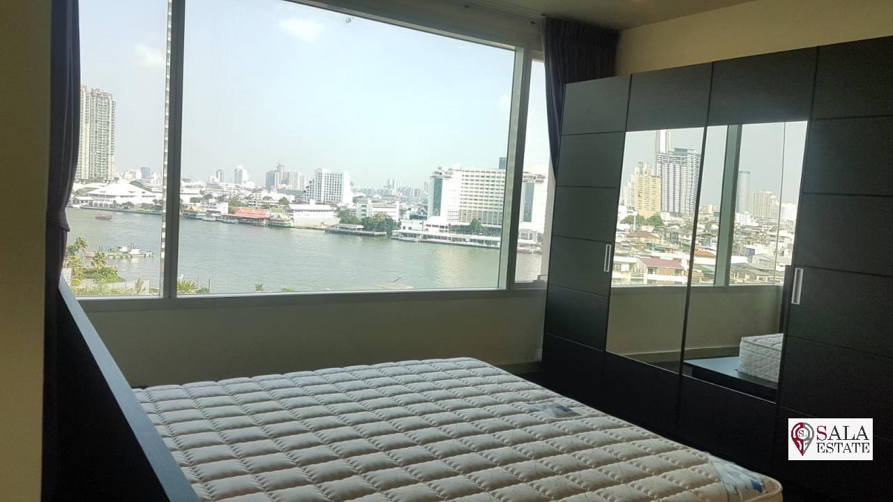 SALA ESTATE Agency's (FOR SALE) WATERMARK CHAOPHRAYA RIVER – RIVERSIDE-NEAR ICON SIAM, 102.16 SQM 2 BEDROOMS 2 BATHROOMS, RIVER VIEW, LOW FLOOR 1