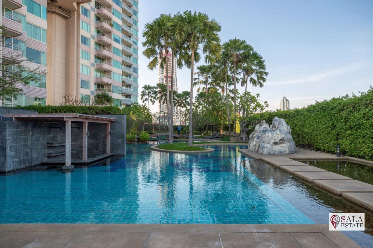 SALA ESTATE Agency's (FOR SALE) WATERMARK CHAOPHRAYA RIVER – RIVERSIDE-NEAR ICON SIAM, 102.16 SQM 2 BEDROOMS 2 BATHROOMS, RIVER VIEW, LOW FLOOR 7