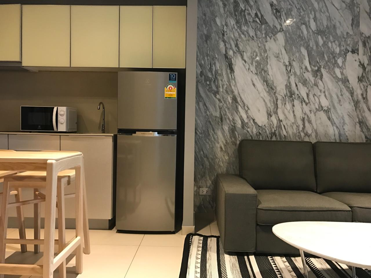 RE/MAX CondoDee Agency's 1 Bed Condo Ekkamai for rent On main road only 200 M from BTS 30000 THB  1