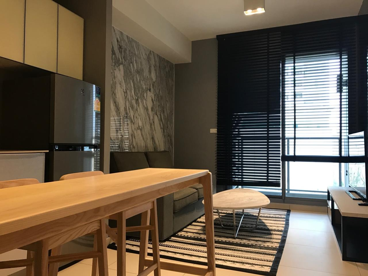 RE/MAX CondoDee Agency's 1 Bed Condo Ekkamai for rent On main road only 200 M from BTS 30000 THB  2