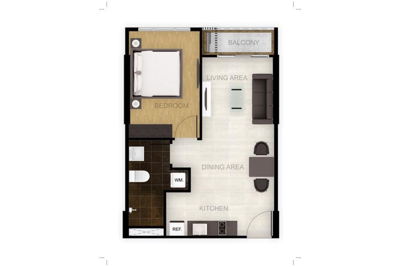 RE/MAX Executive Homes Agency's 1Bedroom For Sale VOQUE31, Fully furnished, Sukhumvit 31, BTS Asoke, MRT Sukhumvit 5