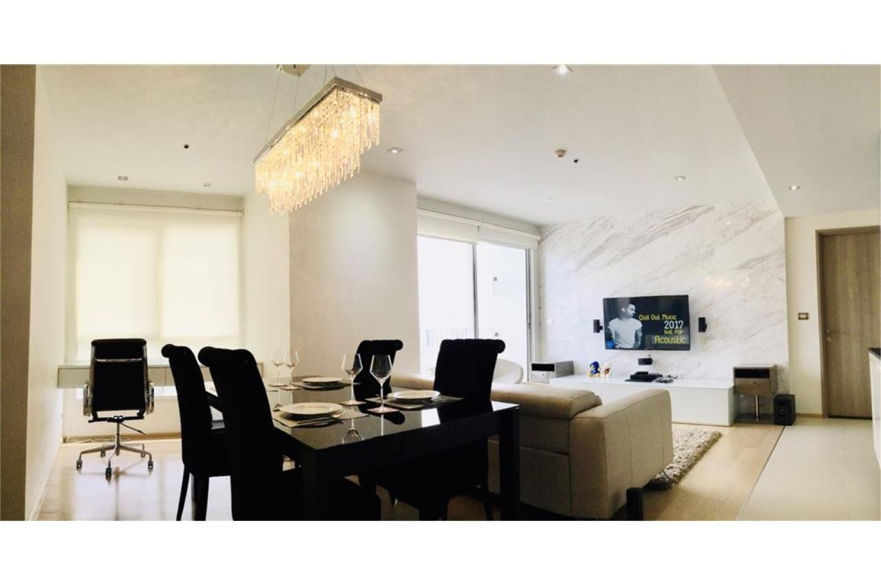 RE/MAX Executive Homes Agency's Condo For Sale 2Bedroom at HQ By Sansiri BTS Thonglo, Fully Furnished Luxury Furniture, Located Sukhumvit 55 3