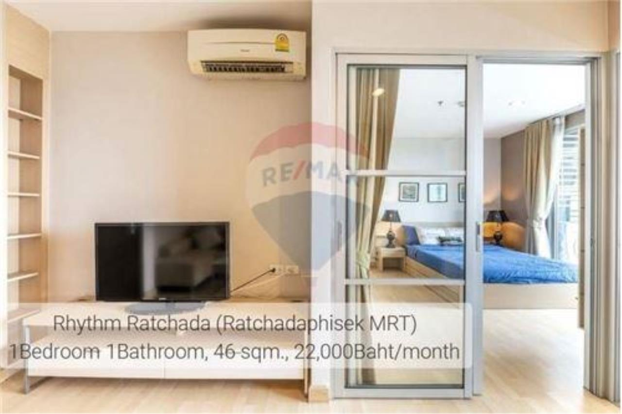 RE/MAX Executive Homes Agency's RHYTHM RATCHADA  MODERN 1BED NEAR MRT 3