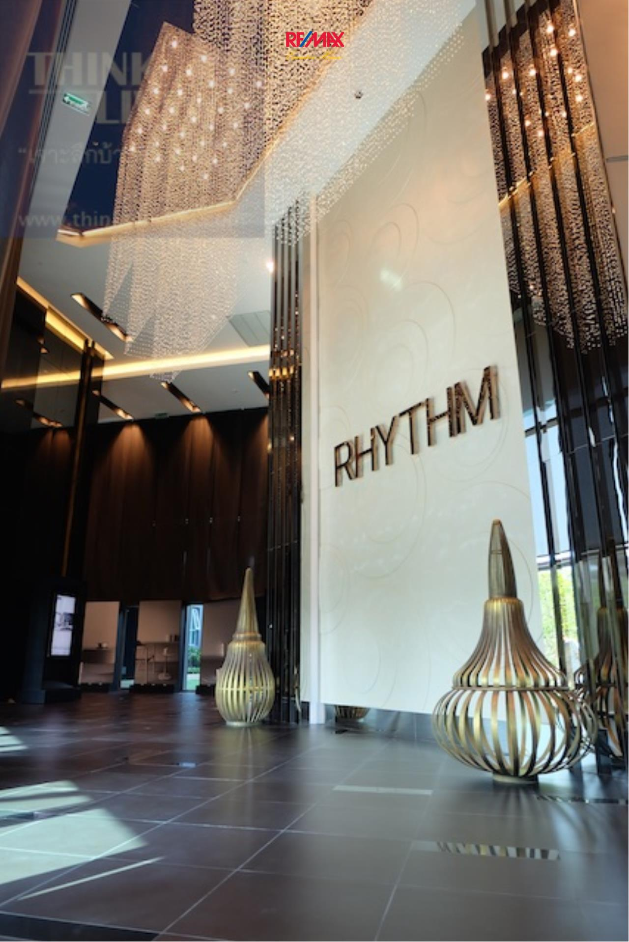RE/MAX Executive Homes Agency's Rhythm Sathorn 21, 1 br-35 sqm for rent. 9