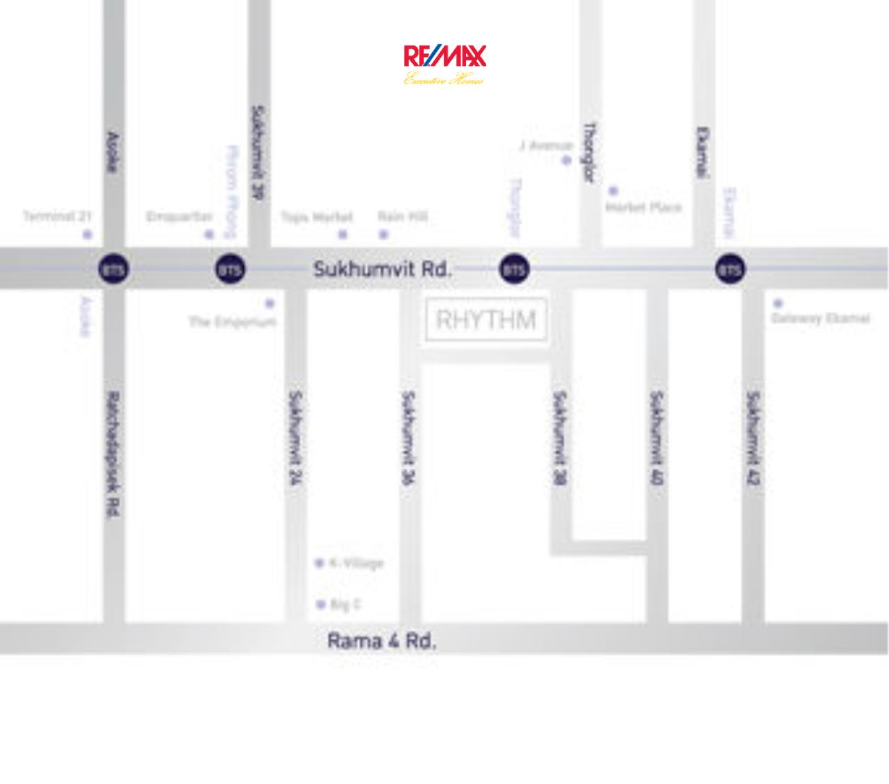 RE/MAX Executive Homes Agency's Stunning 2 Bedroom for Sale Rhythm Sukhumvit 36-38 7