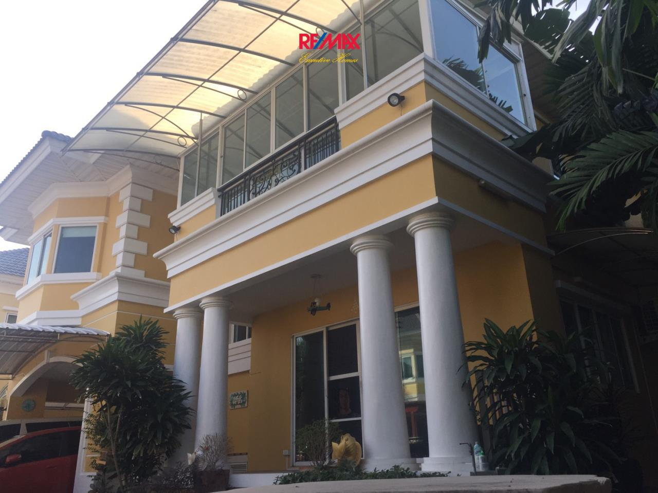 RE/MAX Executive Homes Agency's Beautiful 3 Bedroom House for Sale Euros Prime Village Ladkrabang 1